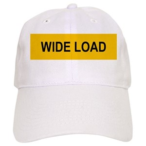 c509b61a Wide Load Hats - CafePress