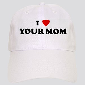 dbb1ca667ff Your Mom Hats - CafePress