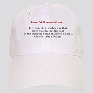 Powerful Women's Motto Cap