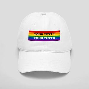 9c1b7da71ebc3a Personalize Cute Rainbow Cap