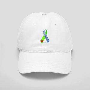 Parental Alienation Awareness Ribbon -White Baseba