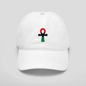 Red, Black & Green Ankh Cap