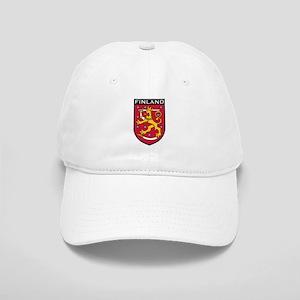 Finland Coat of Arms Cap