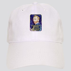 Vincent van Gogh - Art - Quote Baseball Cap