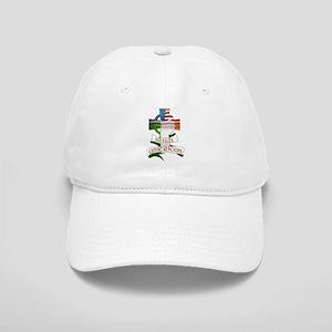 Irish American Celtic Cross Cap