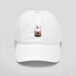 88th Birthday Cupcake Cap