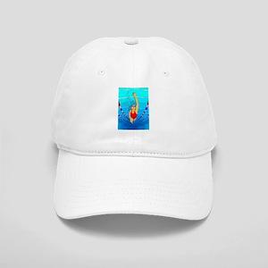 Woman swimming Baseball Cap