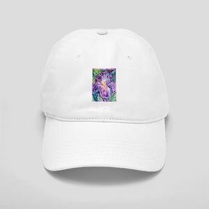 Iris, floral, art, Cap