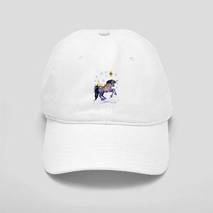 Bright Christmas Unicorn Cap