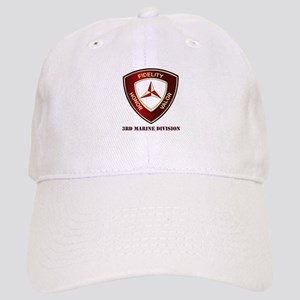 3rd Marine Division with Text Cap