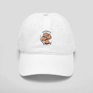 Apricot Poodle IAAM Cap