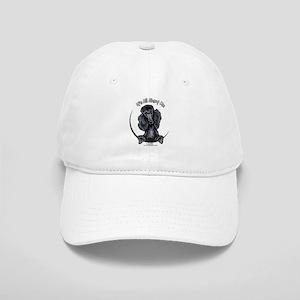 Black Standard Poodle IAAM Cap
