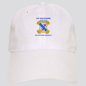 DUI - 1st Bn - 8th Infantry Regt with Text Cap