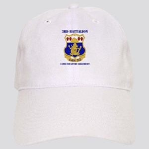 DUI - 3rd Bn - 15th Infantry Regt with Text Cap