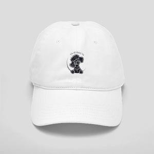 Black Poodle IAAM Full Cap