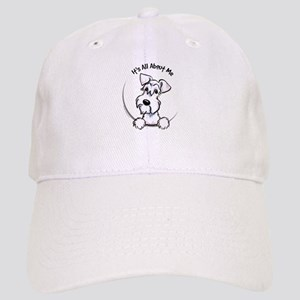 White Schnazuer IAAM Cap