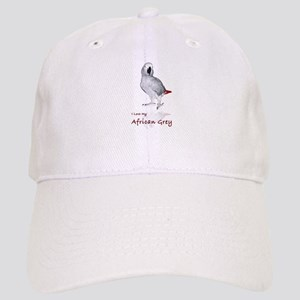 i love african greys Cap