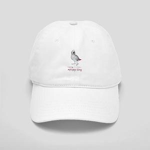 i love african greys Cap