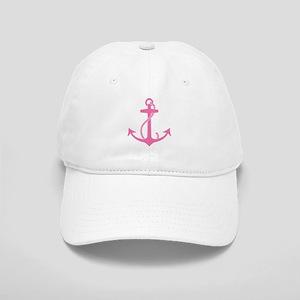 Pink Anchor Cap