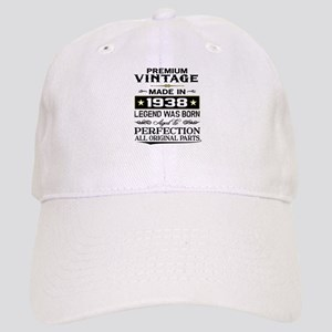PREMIUM VINTAGE 1938 Baseball Cap