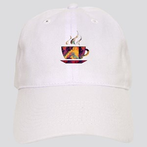 Colorful Cup of Coffee copy Baseball Cap