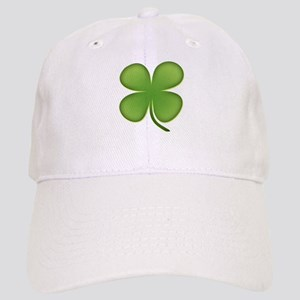 Lucky Irish Four Leaf Clover Cap