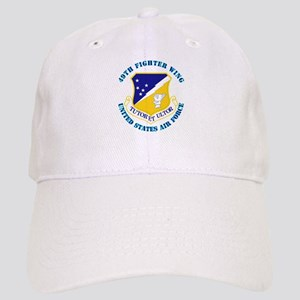 49th Fighter Wing with Text Cap