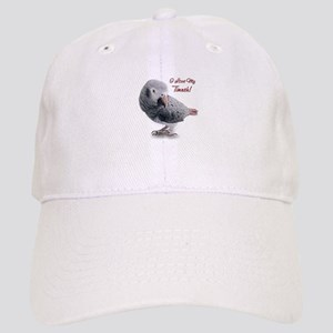 African Grey Parrot Holiday Cap