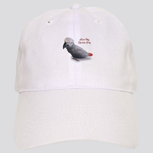 African Grey Parrot Gifts Cap
