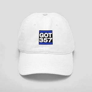 got 357 blue Baseball Cap