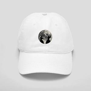 Samurai Moon Baseball Cap