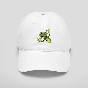 Happy Green Frog Baseball Cap