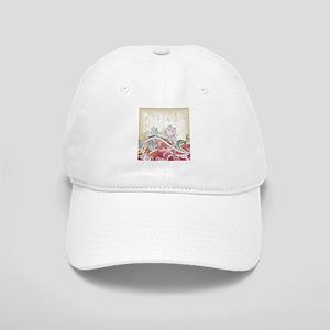 Abstract Floral Baseball Cap
