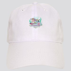 Cute Personalized Mermaid Baseball Cap