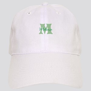 CUSTOM Green Monogram Baseball Cap
