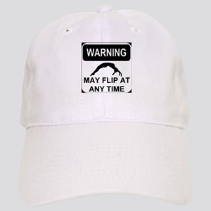 Warning may flip Cap