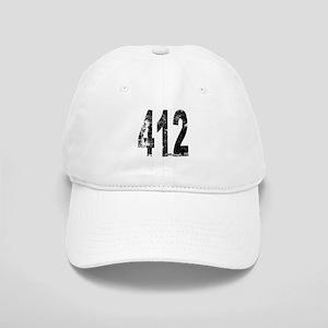 Pittsburgh Area Code 412 Baseball Cap
