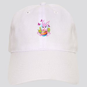 Pink Easter Bunny Cap