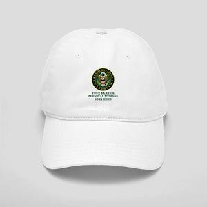 CUSTOM TEXT U.S. Army Baseball Cap