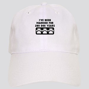 40th Anniversary Dog Years Baseball Cap