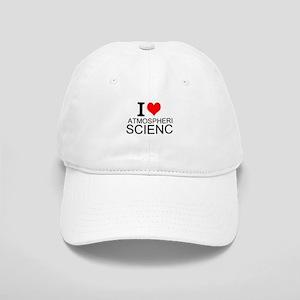 I Love Atmospheric Science Baseball Cap
