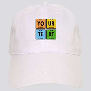 Your Text Periodic Elements Nerd Special Cap