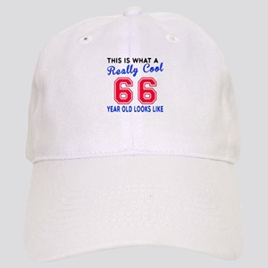 Really Cool 66 Birthday Designs Cap