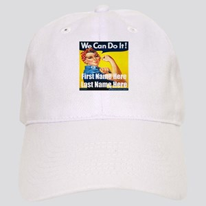 Rosie the Riveter We Can Do It Baseball Cap