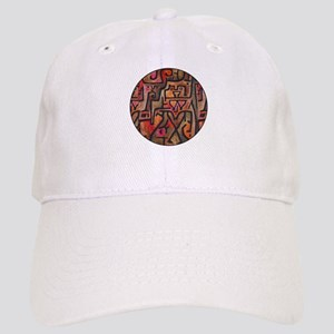 Paul Klee Red Nature Abstract Forest Baseball Cap