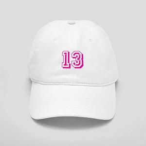 13 Pink Birthday Cap