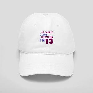 I Know Everythig I Am 13 Cap