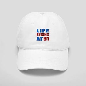 Life Begins At 91 Cap