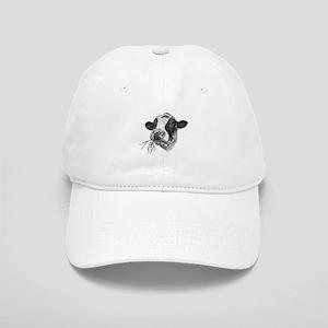 Happy Holstein Friesian Dairy Cow Cap