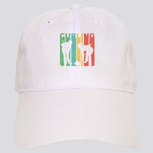 Retro Curling Baseball Cap